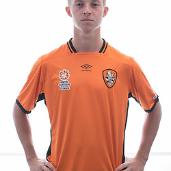BRISBANE, AUSTRALIA - MARCH 17: Danny Driver poses for a photo during the Brisbane Roar Youth headshot session at QUT Kelvin Grove on March 17, 2017 in Brisbane, Australia. (Photo by Patrick Kearney/Brisbane Roar)