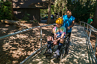 Summer Camp for Young People with Disabilities, Camp Long