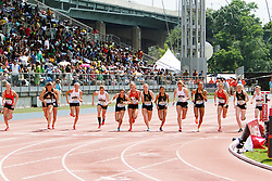 Samsung Diamond League adidas Grand Prix track & field; Dream Mile, High School Girls, start