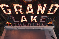 The Grand Lake Theater.