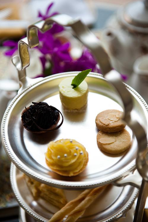 The afternoon tea set on the Verandah at the gracious Rambagh Palace Hotel, Bhawani Singh Rd, +91 141 221 1919, www.tajhotels.com