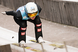 February 7, 2019 - Ljubno, Savinjska, Slovenia - Jacqueline Seifriedsberger of Austria competes on qualification day of the FIS Ski Jumping World Cup Ladies Ljubno on February 7, 2019 in Ljubno, Slovenia. (Credit Image: © Rok Rakun/Pacific Press via ZUMA Wire)
