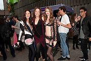 CLAIRE MERRY; DEE MURRAY; STACEY FENTON, Dirty Pretty Things - summer party. Lingerie line hosts  party celebrating its new online shop and showcasing the latest collection. The Lingerie Collective, 8 Ganton Street, Soho. London, 15 June 2011<br /> <br />  , -DO NOT ARCHIVE-© Copyright Photograph by Dafydd Jones. 248 Clapham Rd. London SW9 0PZ. Tel 0207 820 0771. www.dafjones.com.