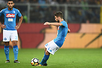 gol Dries Mertens<br /> Genova 25-10-2017 Stadio Marassi Calcio Serie A 2017/2018 Genoa - Napoli Foto Image Sport / Insidefoto