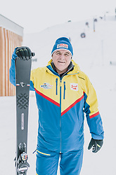 06.02.2020, Zwölferkogel, Hinterglemm, AUT, FIS Weltcup Ski Alpin, Saalbach Hinterglemm, Vorberichte, im Bild Bartl Gensbichler OK Chef und Präsident des Salzburger Landesskiverbandes // Bartl Gensbichler OC Head and President of the Salzburg Ski Association before the FIS Ski Alpine World cup at the Zwoelferkogel in Hinterglemm, Austria on 2020/02/06. EXPA Pictures © 2020, PhotoCredit: EXPA/ JFK