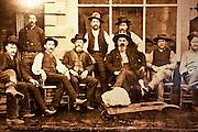 Historical photograph, Rico, Colorado
