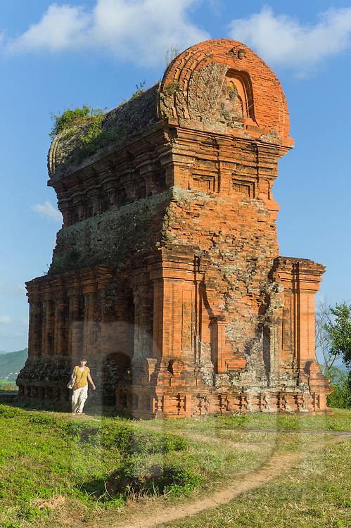 Banh It Cham Tower Complex, Quy Nhon area, Binh Dinh Province, Vietnam, Southeast Asia