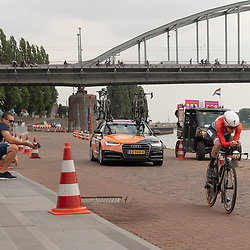28-08-2018: Wielrennen: Ladies Tour: Arnhem<br /> Christine Majerus