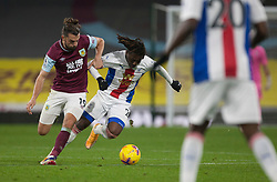 Jay Rodriguez of Burnley (L) and Eberechi Eze of Crystal Palace in action - Mandatory by-line: Jack Phillips/JMP - 23/11/2020 - FOOTBALL - Turf Moor - Burnley, England - Burnley v Crystal Palace - English Premier League