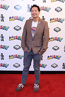 """Kevin Shen   at the """"Moley"""" premiere, Leicester Square, London, Location, London, UK - 25 Sep 2021 photo by Roger Alacron"""