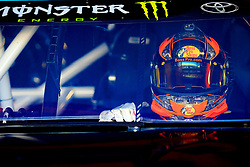 March 23, 2019 - Martinsville, VA, U.S. - MARTINSVILLE, VA - MARCH 23:  The helmet and driving gloves of #19: Martin Truex Jr., Joe Gibbs Racing, Toyota Camry Sirius XM during practice for the STP 500 Monster Energy NASCAR Cup Series race on March 23, 2019 at the Martinsville Speedway in Martinsville, VA.  (Photo by David J. Griffin/Icon Sportswire) (Credit Image: © David J. Griffin/Icon SMI via ZUMA Press)
