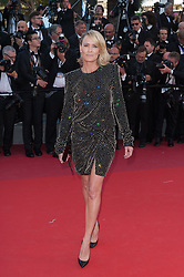 Robin Wright arriving on the red carpet of Les Fantomes d Ismael screening and opening ceremony held at the Palais Des Festivals in Cannes, France on May 17, 2017 as part of the 70th Cannes Film Festival. Photo by Nicolas Genin/ABACAPRESS.COM