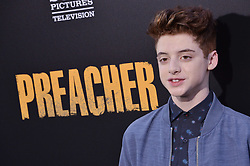 """Thomas Barbusca arrives at AMC's """"Preacher"""" Season 2 Premiere Screening held at the Theater at the Ace Hotel in Los Angeles, CA on Tuesday, June 20, 2017.  (Photo By Sthanlee B. Mirador) *** Please Use Credit from Credit Field ***"""