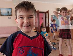 Bogdan, 4 1/2 yrs a resident of Lugansk Orphanage No.1