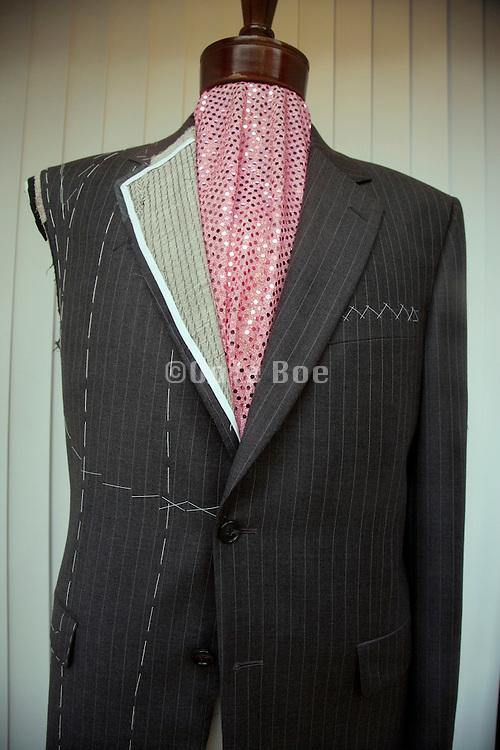 halve finished tailor made jacket