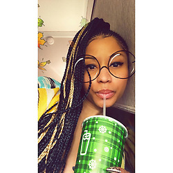 "Nicki Minaj releases a photo on Instagram with the following caption: ""Get u a straw \ud83e\udd2c- @postmates, thx for my free @shakeshack delivery \ud83e\udd64\ud83c\udf66\ud83c\udf54 yo tengo hambre - free delivery all week y\u2019all, just tell\u2019m Barbie sent ya \ud83e\udddc\ud83c\udffc\u200d\u2640\ufe0f"". Photo Credit: Instagram *** No USA Distribution *** For Editorial Use Only *** Not to be Published in Books or Photo Books ***  Please note: Fees charged by the agency are for the agency's services only, and do not, nor are they intended to, convey to the user any ownership of Copyright or License in the material. The agency does not claim any ownership including but not limited to Copyright or License in the attached material. By publishing this material you expressly agree to indemnify and to hold the agency and its directors, shareholders and employees harmless from any loss, claims, damages, demands, expenses (including legal fees), or any causes of action or allegation against the agency arising out of or connected in any way with publication of the material."