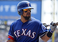 CHICAGO - APRIL 24:  Rougned Odor #12 of the Texas Rangers looks on against the Chicago White Sox on April 24, 2016 at U.S. Cellular Field in Chicago, Illinois.  The White Sox defeated the Rangers 4-1.  (Photo by Ron Vesely)   Subject: Rougned Odor