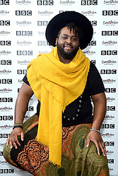 Jaz Ellington during Eurovision: You Decide - Meet The Artists, an introduction to this year's UK hopefuls, at BBC, New Broadcasting House in London.