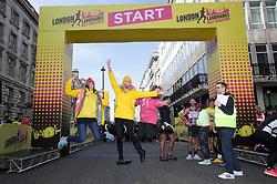 London Landmarks Half Marathon Race Director during the 2019 London Landmarks Half Marathon.
