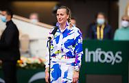 Petra Kvitova of the Czech Republic reacts to winning her quarter-final match at the Roland Garros 2020, Grand Slam tennis tournament, on October 7, 2020 at Roland Garros stadium in Paris, France - Photo Rob Prange / Spain ProSportsImages / DPPI / ProSportsImages / DPPI
