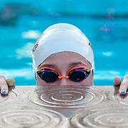 Swim Practice at Rose Bowl Aquatics Center on March 5, 2020 (Photo By Laura Domingue)