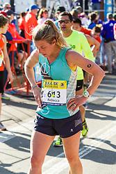Boston Marathon: BAA 5K road race, Oiselle, Rebecca
