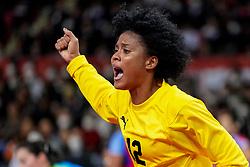 05-12-2019 JAP: Cuba - Slovenia, Kumamoto<br /> Fourth match groep A at 24th IHF Women's Handball World Championship. Slovenia win 39 - 26 of Cuba / Indiana Cedeno Ramos #12 of Cuba