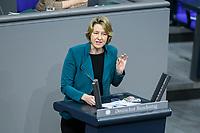 04 NOV 2020, BERLIN/GERMANY:<br /> Dr. Anja Weisgerber, MdB, CSU, spricht waehrend einer Debatte zur Klimaschutz-Politik, Plenum, Reichstagsgebaeude, Deutscher Bundestag<br /> IMAGE: 20201104-01-010<br /> KEYWORDS: Rede, Speech