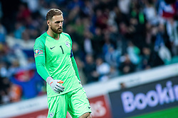 Jan Oblak of Slovenia during the 2020 UEFA European Championships group G qualifying match between Slovenia and Poland at SRC Stozice on September 6, 2019 in Ljubljana, Slovenia. Photo by Grega Valancic / Sportida