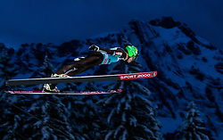 15.12.2017, Gross Titlis Schanze, Engelberg, SUI, FIS Weltcup Ski Sprung, Engelberg, im Bild Jernej Damjan (SLO) // Jernej Damjan of Slovenia during Mens FIS Skijumping World Cup at the Gross Titlis Schanze in Engelberg, Switzerland on 2017/12/15. EXPA Pictures © 2017, PhotoCredit: EXPA/JFK