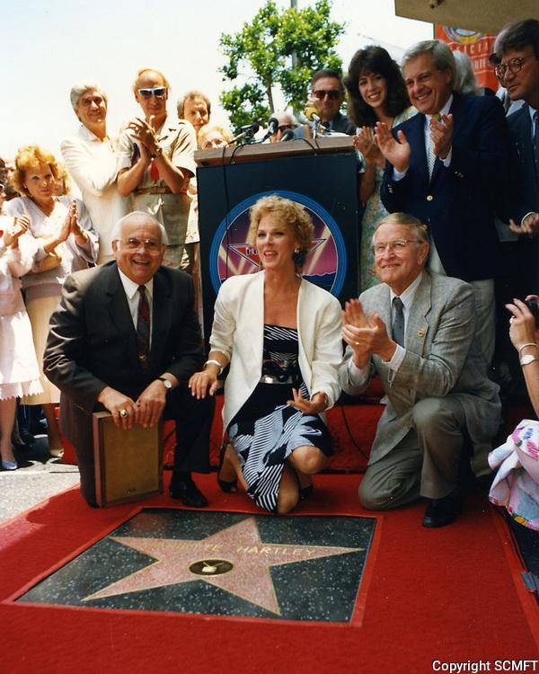 1987 Mariette Hartley's Walk of Fame ceremony
