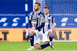 Sam Field of West Bromwich Albion takes a knee for Black Lives Matter - Mandatory by-line: Robbie Stephenson/JMP - 16/09/2020 - FOOTBALL - The Hawthorns - West Bromwich, England - West Bromwich Albion v Harrogate Town - Carabao Cup