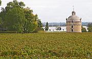 The tower. Chateau Latour, Pauillac, Medoc, Bordeaux, France
