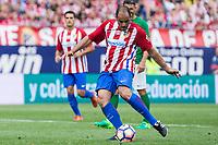 Salva Ballesta during the last match to be played by Atletico de Madrid at Vicente Calderon Stadium in Madrid, May 28, 2017. Spain.. (ALTERPHOTOS/Rodrigo Jimenez)