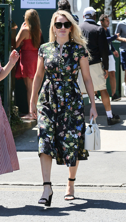 Singer Ellie Goulding is pictured arriving at the AELTC for the 2018 Wimbledon Championships. 02 Jul 2018 Pictured: Ellie Goulding. Photo credit: MEGA TheMegaAgency.com +1 888 505 6342