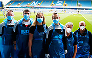 Medic staff during EFL Sky Bet Championship between Millwall and Derby County at The Den Stadium, Saturday, June 20, 2020, in London, United Kingdom. (ESPA-Images/Image of Sport)