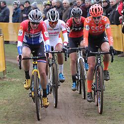 26-12-2019: Wielrennen: Wereldbeker veldrijden: Zolder: De vier Nederlandse topvrouwen met Lucinda Brand, Ceylin Alvarado, Annemarie Worst en Marianne Vos.