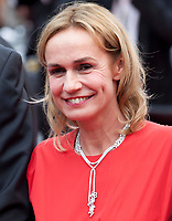 Sandrine Bonnaire at L'amant Double gala screening at the 70th Cannes Film Festival Friday 26th May 2017, Cannes, France. Photo credit: Doreen Kennedy
