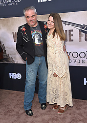 May 14, 2019 - Hollywood, California, U.S. - W. Earl Brown and Carrie Paschall arrives for the premiere of HBO's 'Deadwood' Movie at the Cinerama Dome theater. (Credit Image: © Lisa O'Connor/ZUMA Wire)