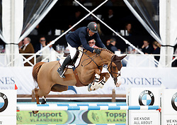 Candele Yann, (CAN), Happiness<br /> Global Champions Tour Antwerp 2016<br /> © Hippo Foto - Dirk Caremans<br /> 22/04/16