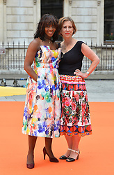 Brenda Emmanus (left) and Kirsty Wack arriving for Royal Academy of Arts Summer Exhibition Preview Party 2017 held at Burlington House, London. PRESS ASSOCIATION Photo. Picture date: Wednesday June 7, 2017. Photo credit should read: Matt Crossick/PA Wire