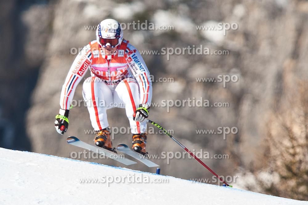 23.01.2011, Tofana, Cortina d Ampezzo, ITA, FIS World Cup Ski Alpin, Lady, Cortina, SuperG, im Bild Marion Rolland (FRA, #2) // Marion Rolland (FRA) during FIS Ski Worldcup ladies SuperG at pista Tofana in Cortina d Ampezzo, Italy on 23/1/2011. EXPA Pictures © 2011, PhotoCredit: EXPA/ J. Groder