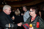RICHARD GRIFFITHS; JO BRAND, The South Bank Sky Arts Awards , The Dorchester Hotel, Park Lane, London. January 25, 2011,-DO NOT ARCHIVE-© Copyright Photograph by Dafydd Jones. 248 Clapham Rd. London SW9 0PZ. Tel 0207 820 0771. www.dafjones.com.