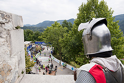 Overview of the finish line during 3rd Stage of 25th Tour de Slovenie 2018 cycling race between Slovenske Konjice and Celje (175,7 km), on June 15, 2018 in  Slovenia. Photo by Matic Klansek Velej / Sportida