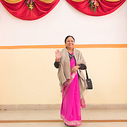 Wedding from Prabodh Shahi's with Aditi Rana (both are from the Kshetriya tribe).<br /> First day, initial reception of the wedding at a Banquet.