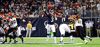 Houston Texans quarterback Tom Savage (3) throws a pass against the Cincinnati Bengals during the second half of an NFL football game Saturday, Dec. 24, 2016, in Houston. (AP Photo/Sam Craft)