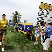 Mt. PLEASANT, SC, May 31, 2007:  Michelle Wie withdraws from play during the first round of the Ginn Tribute Hosted by Annika Sorrenstam in Mt. Pleasant, South Carolina on May 31, 2007. Wie was two shots away from shooting a 88 which would have prohibited her from playing in any other LPGA tournaments in 2007. (Photo by Todd Bigelow/Aurora)
