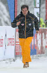 20.01.2013, Loipe Obertilliach, AUT, 39. Dolomitenlauf, Freestyle, im Bild Tourismusverband Osttirol Obmann Franz Theurl // during the 39th Dolomitenlauf, freestyle race at Obertilliach, Austria on 2013/01/20.  EXPA Pictures © 2013, PhotoCredit: EXPA/ Michael Gruber