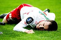 Fotball , <br /> Tippeligaen ,   <br /> 14.03.09 , <br /> Fredrikstad stadion , <br /> Fredrikstad FFK - Stabæk , <br /> Agim Shabani må ut med skade , <br /> Foto: Thomas Andersen / Digitalsport
