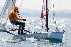 , Travemünde - Mövensteinregatta 07. - 09.08.2020, Musto Skiff - GER 591 - Dirk ROTHER - Lübecker Yacht-Club